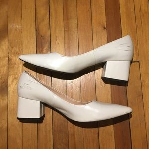 Zara Shoes - White Zara Pumps